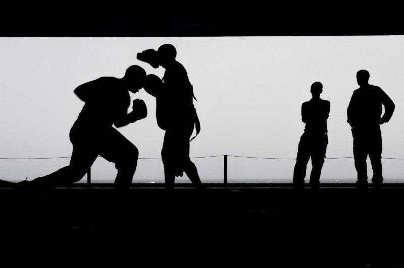 אלימות במשפחות של מהמרים